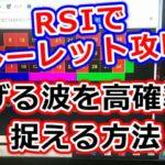 【RSIでルーレット攻略】ツールで稼げる波を高確率で捉える方法①